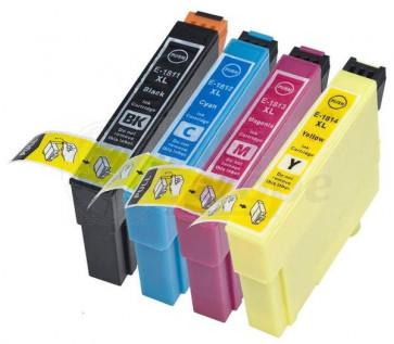 Epson T0711 T0714 voordeelset inktcartridge + chip (huismerk)