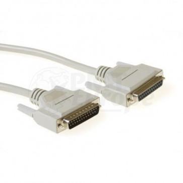 RS 232 kabel Sub-D 25 (male) Sub-D 25 (female)