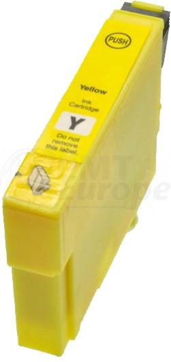 Epson T1294 inktcartridge geel hoge capaciteit + chip (huismerk)