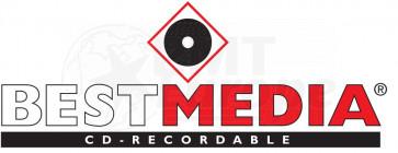 CD-R 90min 800MB 25 stuks Best media (Platinum)