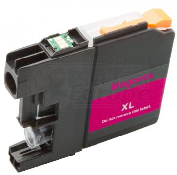 Brother LC-125XLM inktcartridge magenta hoge capaciteit + chip (huismerk)