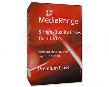 DVD doos 3 dvds zwart 5 stuks