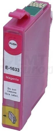 Epson 16XL (T1633) inktcartridge magenta hoge capaciteit + chip (huismerk)