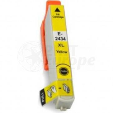 Epson 24XL (T2434) inktcartridge geel hoge capaciteit (huismerk)