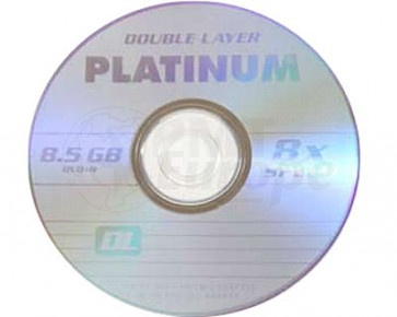 DVD+R 8.5GB 8X Platinum double layer 10 stuks