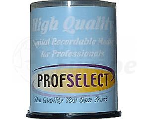 DVD-R 4.7GB 16X Profselect 100 stuks