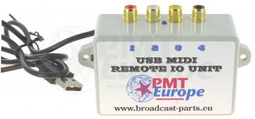 USB knop start unit MIDI IO unit Berhinger DX2000(usb)