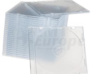 CD jewel slimcase 5.2mm transparant Premiumline 98 stuks