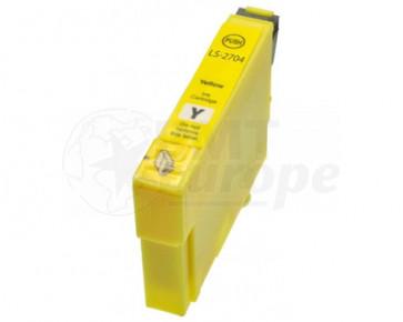 Epson 27XL (T2714) inktcartridge geel hoge capaciteit + chip (huismerk)