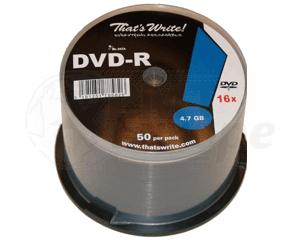 DVD-R 4.7GB 8X Thats Write 50 stuks