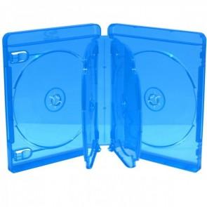 Blu-ray Disc doos voor 6 discs blauw 5 stuks
