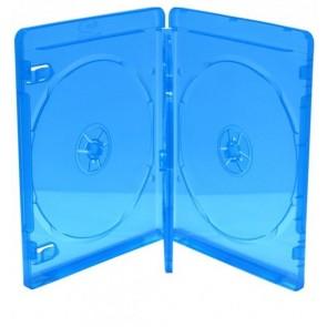 Blu-ray Disc doos voor 4 discs blauw 5 stuks