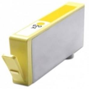 HP 920XL (CD974AE) inktcartridge geel hoge capaciteit + chip (huismerk)