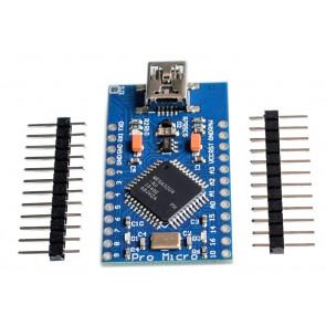 Mini USB Arduino/Leonardo Board ATmega32U4 Pro Micro 5V 16MHz