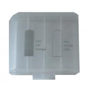 Camelion opberg systeem voor 4 * AA of AAA batterijen