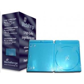 Blu-ray Disc doos voor 1 disc blauw 5 stuks