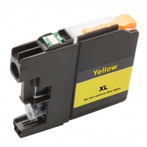 Brother LC-125XLY inktcartridge geel hoge capaciteit + chip (huismerk)