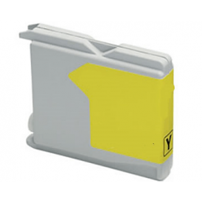 Brother LC-970 / LC-1000Y inktcartridge geel (huismerk)