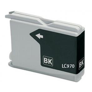Brother LC-970 / LC-1000BK inktcartridge zwart (huismerk)