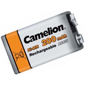 Oplaadbare batterij 9 Volt 200 mAh Camelion