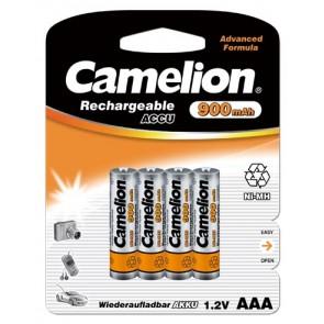 Oplaadbare batterij AAA 900 mAh Camelion 4 stuks