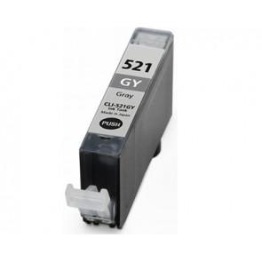 Canon CLI-521GY inktcartridge grijs + chip (huismerk)
