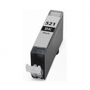 Canon CLI-521BK inktcartridge zwart + chip (huismerk)