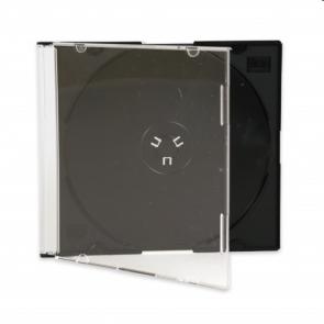 CD jewel slimcase 5.2mm zwart Premiumline 50 stuks