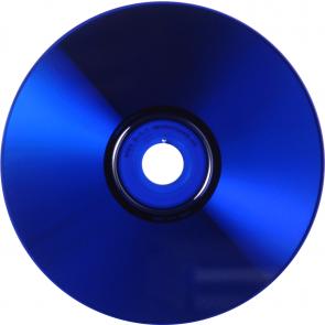 CD-R 80min Blauw 25 stuks volledig wit inktjet printable