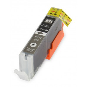 Canon CLI-551GY inktcartridge grijs + chip (huismerk)