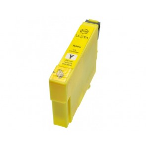 Epson T0614 inktcartridge geel + chip (huismerk)