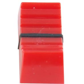 Fader knop voor 5mm Rood