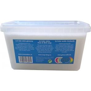Glycerine gietzeep condens & zweetvrij* 2,5 kilo wit