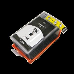 HP 920XL (CD975AE) inktcartridge zwart hoge capaciteit + chip (huismerk)