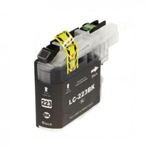 Brother LC-223BK inktcartridge zwart + chip (huismerk)