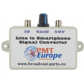 Line naar smartphone converter