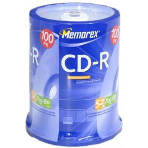 CD-R 52X Memorex 100 stuks