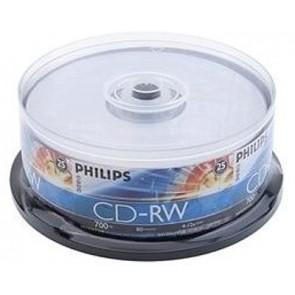 CD-RW 80min Philips 50 stuks