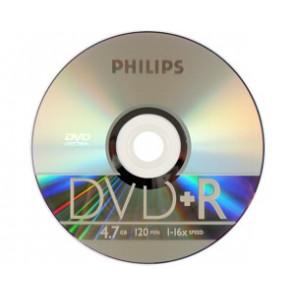 DVD+R 4.7GB 16X Philips Slim case 10 stuks
