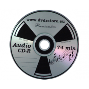 CD-R 74min AUDIO PMT premiumline 100 stuks