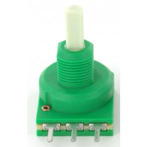Potmeter 10KA (Lin) mono + Center lock D-shaft 4mm o.a. voor Eela audio mengpanelen