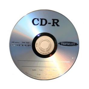 CD-R 80min 52X Profselect 50 stuks