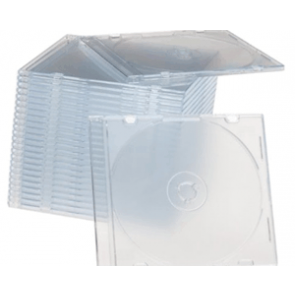 CD jewel slimcase 5.2mm transparant Premiumline 100 stuks