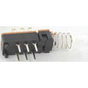 Schakelaar 6 pin self locking o.a. voor Eela audio mengpanelen