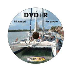 DVD+R 4.7GB 16X Profselect 50 stuks