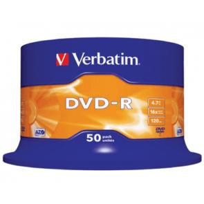 DVD-R 4.7GB 16X Verbatim 50 stuks