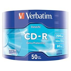CD-R 80min 52X Verbatim 50 stuks