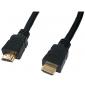 HDMI kabel male-male 19 pins 1,5 meter (Vergulde contacten)