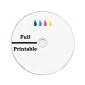 CD-R 90min 24X 25 stuks full wit inktjet printable