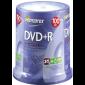 DVD+R 4.7GB 16X Memorex 100 stuks